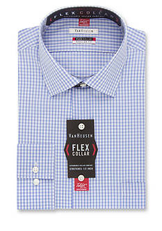 Van Heusen Wrinkle-Free Regular-Fit Flex Collar Dress Shirt