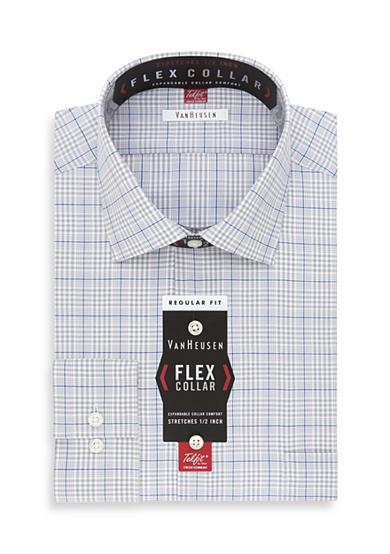 Van Heusen Wrinkle Free Flex Collar Regular Fit Dress