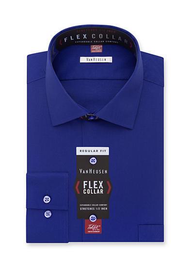 Van heusen dress shirts big tall wrinkle free flex for Van heusen shirts flex collar
