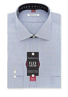 Van Heusen Big & Tall Wrinkle Free Flex Collar Dress Shirt
