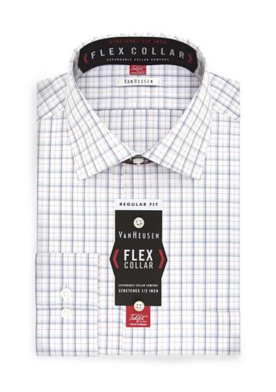 Van heusen big tall flex collar dress shirt belk for Van heusen shirts flex collar