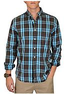 Vintage 1946 Oxford Washed Plaid Woven Shirt