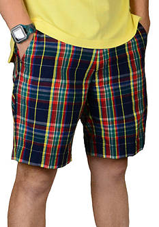 Vintage 1946 Authentic Authentic Madras Plaid Shorts