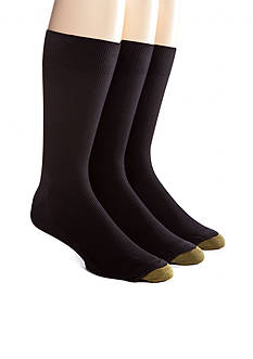 Gold Toe® 3 + 1 Bonus Pack Metropolitan Crew Dress Socks