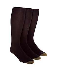 Gold Toe® 3-Pack Metropolitan Over the Calf Socks