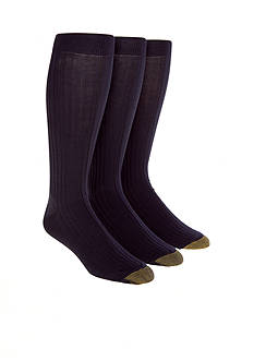 Gold Toe® 3-Pack Canterbury Over the Calf Socks