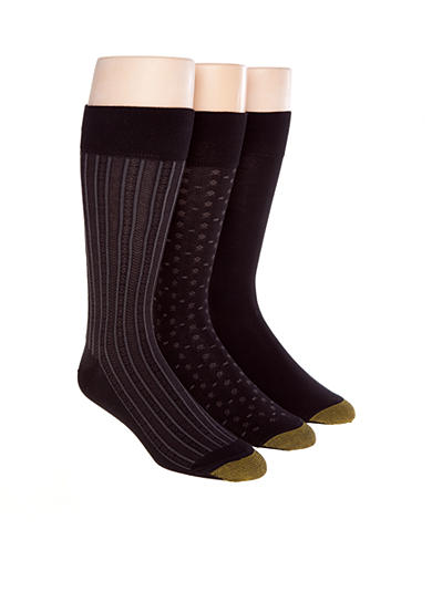 Gold Toe® 3-Pack Fashion Socks