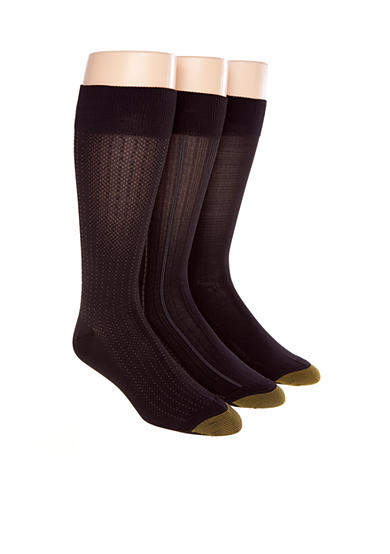 Gold Toe® 3-Pack Ultra Soft Fashion Socks