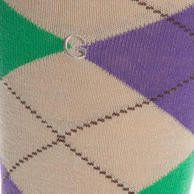 Gold Toe Men Sale: Jelly Bean Gold Toe® Combed Cotton Argyle Crew Socks - Single Pair