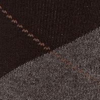 Mens Casual Socks: Black Gold Toe Men's Argyle Crew Socks - Single Pair