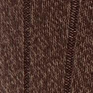 Mens Casual Socks: Brown Marl Gold Toe Men's Ultra Soft Rib Crew Socks - Single Pair