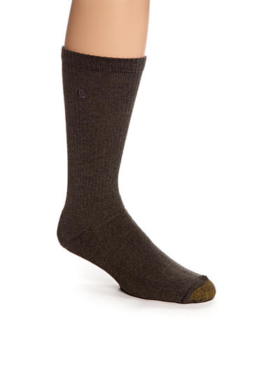 Gold Toe® Men's Cushioned Cotton Uptown Crew Socks - Single Pair