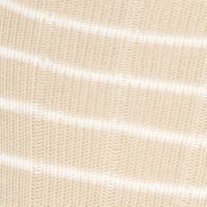 Mens Casual Socks: Pale Khaki Gold Toe Simple Stripe Rib Rio Socks - Single Pair