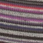 Gold Toe Men Sale: Gray Heather Gold Toe® Frankie Stripes Crew Socks - Single Pair