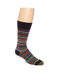 Gold Toe® Frankie Stripes Crew Socks - Single Pair