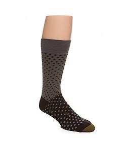 Gold Toe Dot Fade Crew Socks - Single Pair