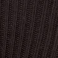 Casual Socks: Black Gold Toe Acrylic Fluffies Crew Casual Socks - Single Pair