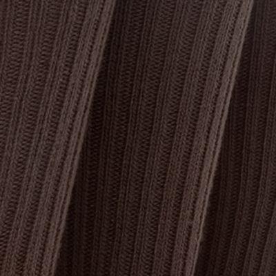 Mens Socks: Brown Gold Toe 3-Pack Cotton Ribbed Socks