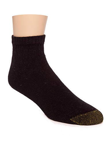 Gold Toe® 6-Pack Quarter Athletic Socks