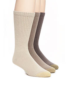 Gold Toe 6 +1 Bonus Pack Cotton Crew Socks