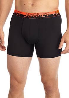 Jockey Sport Micro Mesh Performance Boxer Briefs - 2 Pack