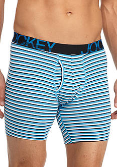 Jockey® Active Stretch Boxer Briefs 3 + 1 Bonus Pair