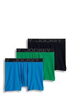 Jockey 3 Pack Active Mesh Boxer Briefs