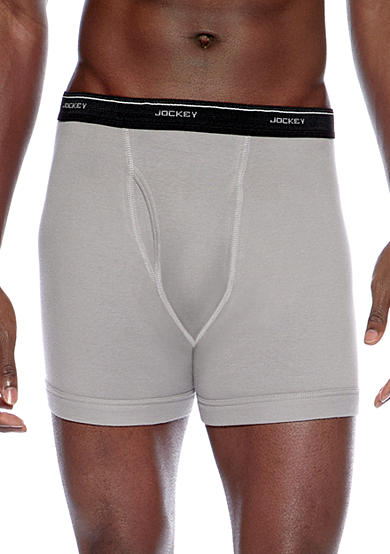 Jockey® 4-Pack Boxer Briefs