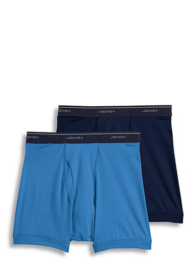 Jockey® Big & Tall Classic Boxer Brief -2 Pack