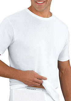 Jockey® Big & Tall 2-Pack Crew Neck T-shirt