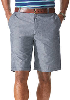 Dockers® 10.5-in. Flat-Front Chambray Twill Shorts
