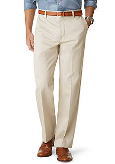 Dockers Signature Khaki Flat Front Relaxed Fit Pants