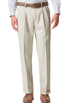 Dockers® Relaxed Fit Khaki Pleated Pants