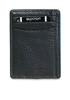 Buxton RFID Front Pocket Money Clip