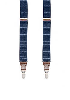Saddlebred® Pin Dot Stretch Clip Suspenders