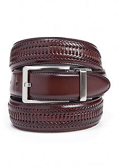 Saddlebred® 1.25-in. Leather Braided Reversible Belt