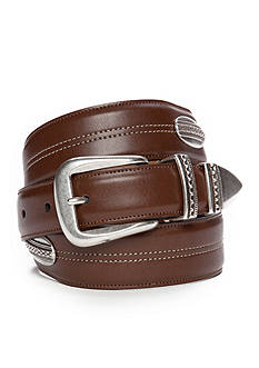 Saddlebred® 1.18-in. x 1.38-in. Tapered Concho Design Belt