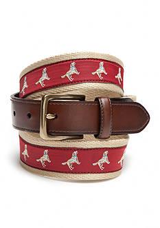 Saddlebred Novelty Lab Dog Belt