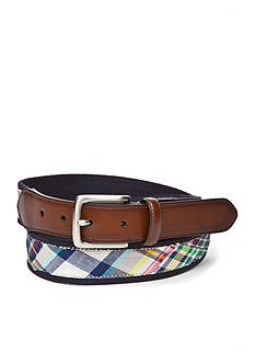 Saddlebred® 1.38-in. Madras Overlay Belt