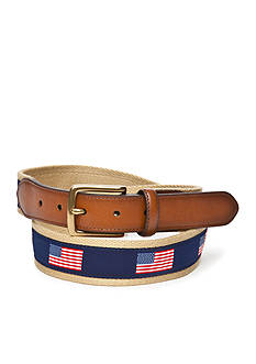 Saddlebred® 1.38-in. Flag Ribbon Belt
