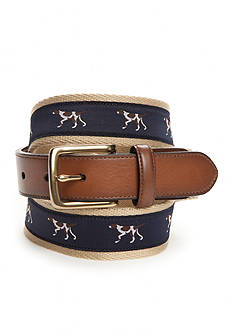 Saddlebred® Novelty Pointer Dog Belt
