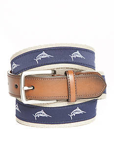 Saddlebred® 1.18-in. Men's Swordfish Fashion Novelty Belt
