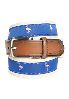Saddlebred® 1.18-in. Men's Flamingo Novelty Belt
