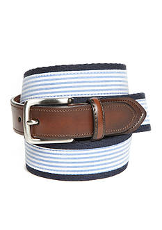 Saddlebred® 1.18-in. Men's Seekersucker Fashion Belt