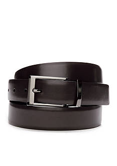 Saddlebred® Big & Tall Reversible Leather Dress Belt