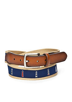 Saddlebred® Big & Tall Lighthouse Novelty Belt