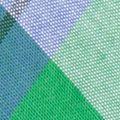 Suspenders for Men: Green Saddlebred 32-mm. Plaid Non-Stretch Clip Suspenders