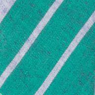 Suspenders: Green Saddlebred 1.26-in. Plaid Non-Stretch Clip Suspenders