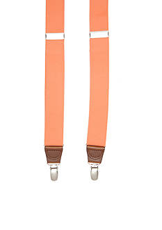 Saddlebred® 1.26-in. Solid Stretch Clip Suspenders
