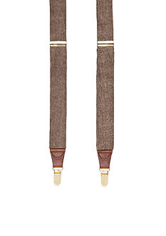 Saddlebred Donegal Tweed Stretch Clip Suspenders